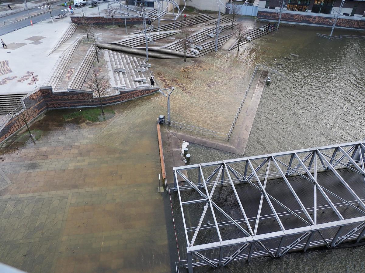 Sturmflut 10. Februar 2020